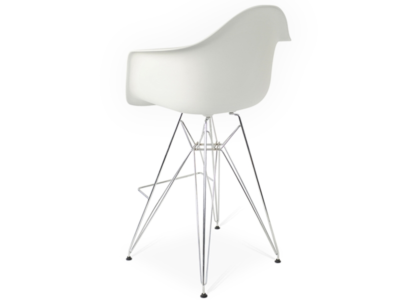 Image de la chaise design Silla de barra DAR - Blanca