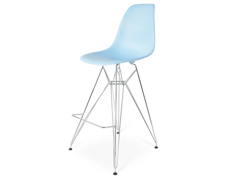 Silla de barra dsr azul for Precio de sillas para barra
