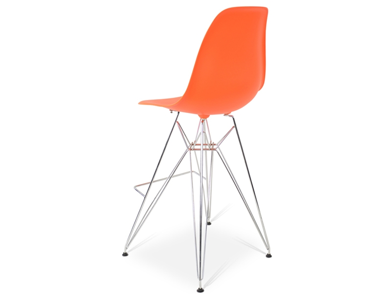 Image de la chaise design Silla de barra DSR - Naranja