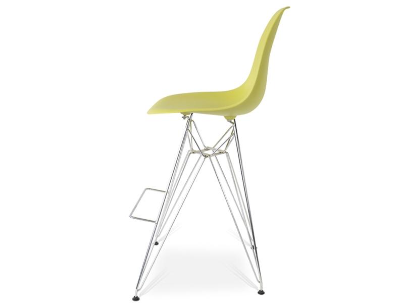 Silla de barra dsr verde oliva for Precio de sillas para barra