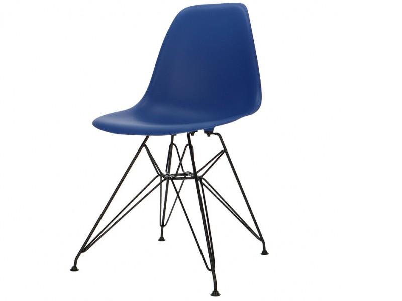 Image de la chaise design Silla DSR - Azul oscuro