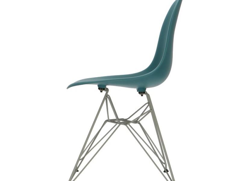 Image de la chaise design Silla DSR - Azul verde
