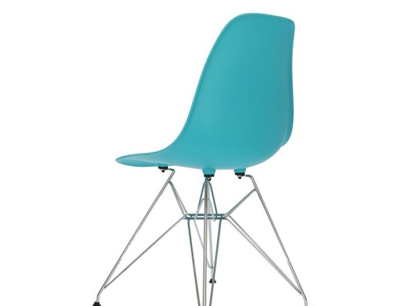 Image de la chaise design Silla DSR - Turquesa