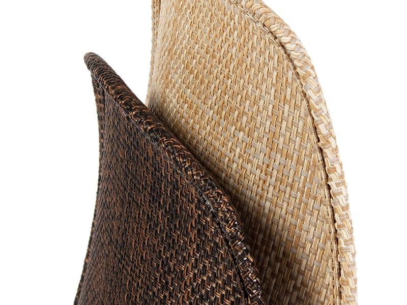 Image de la chaise design Silla DSS Textura apilable - Beige