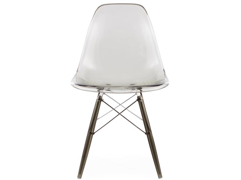 Image de la chaise design Silla DSW All Ghost - Gris ahumado