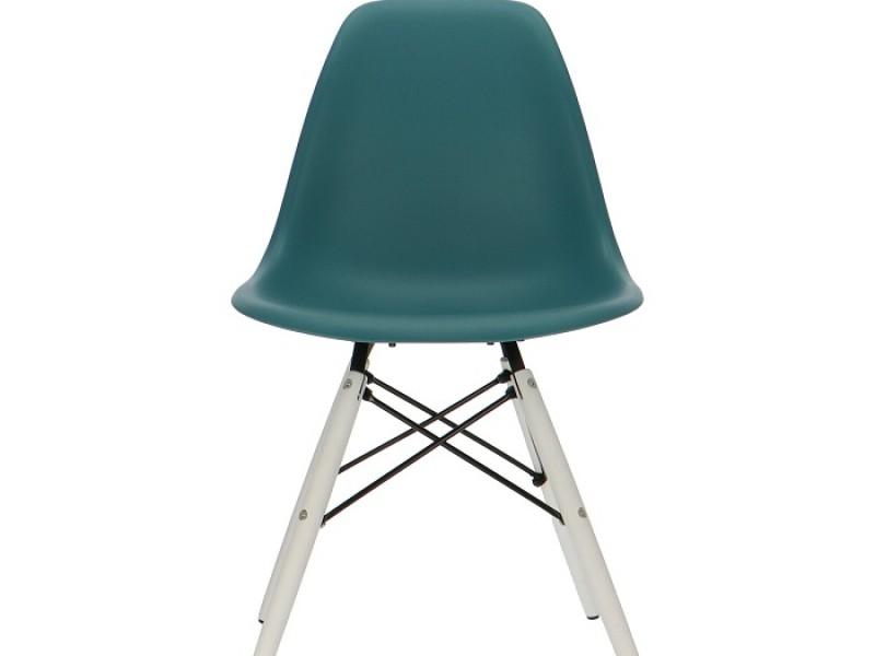 Image de la chaise design Silla DSW - Azul verde