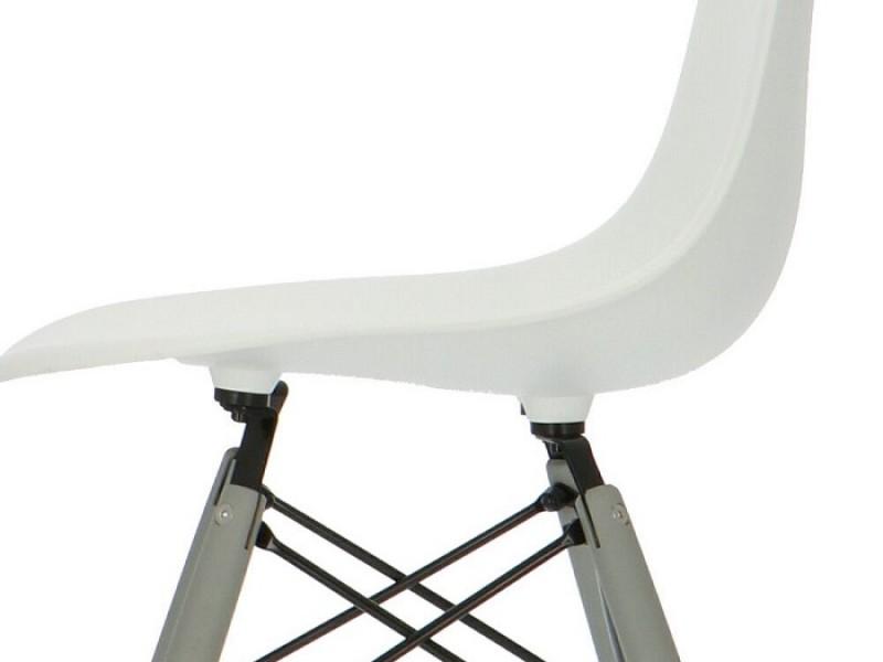 Image de la chaise design Silla DSW - Bianca