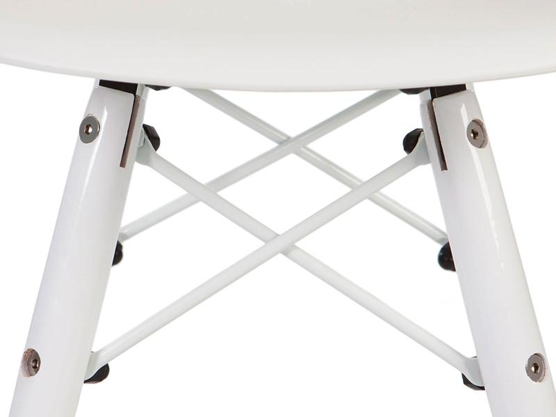Image de la chaise design Silla DSW Niño Color - Blanco