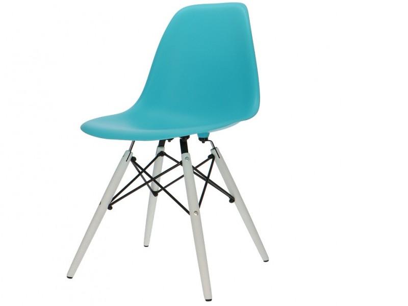 Image de la chaise design Silla DSW - Turquesa