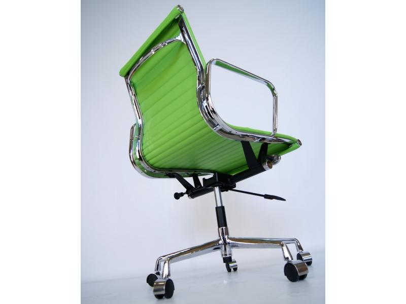 Image de la chaise design Silla Eames Alu EA117 - Verde manzana