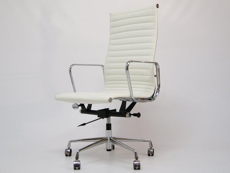 Image de la chaise design Silla Eames Alu EA119 - Blanco