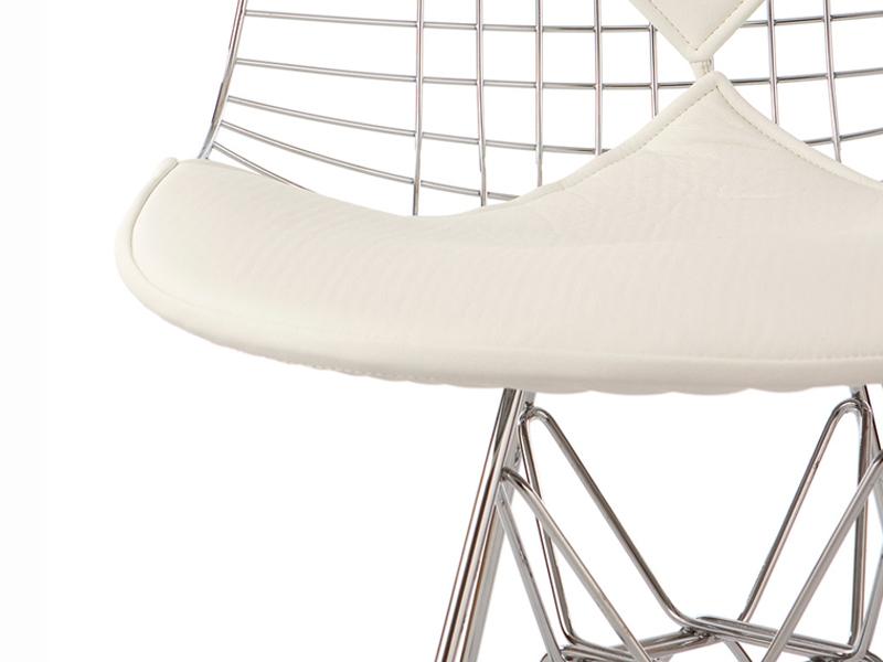 Image de la chaise design Silla Eames Bikini - Blanco