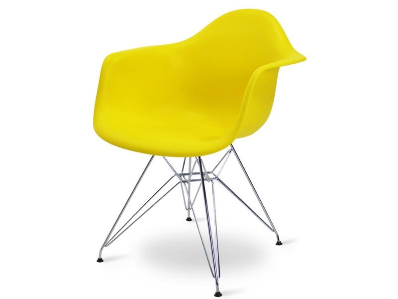 Image de la chaise design Silla Eames DAR - Amarillo limón
