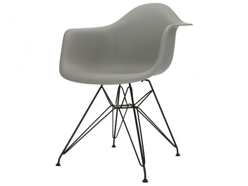 Image de la chaise design Silla Eames DAR - Gris
