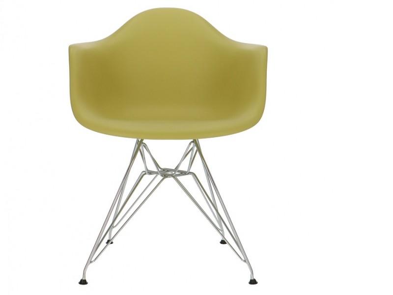 Image de la chaise design Silla Eames DAR - Verde Oliva