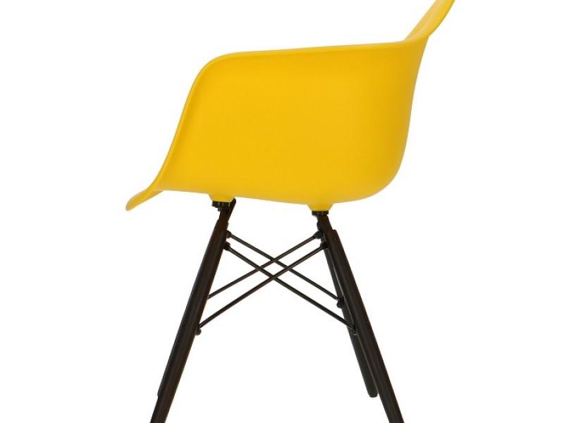 Image de la chaise design Silla Eames DAW - Amarillo