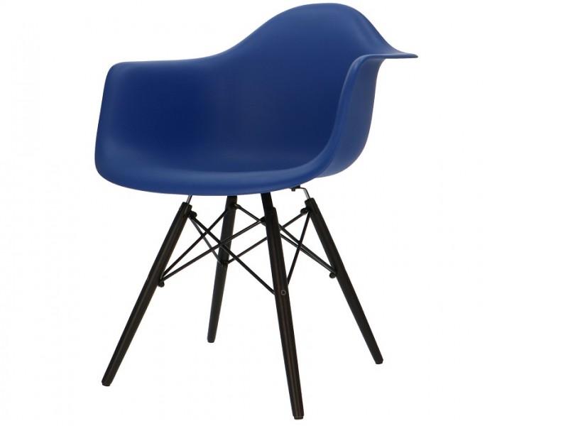 Image de la chaise design Silla Eames DAW - Azul oscuro