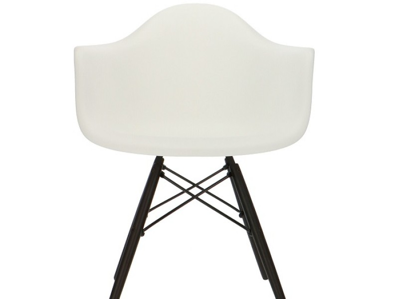 Image de la chaise design Silla Eames DAW - Blanca