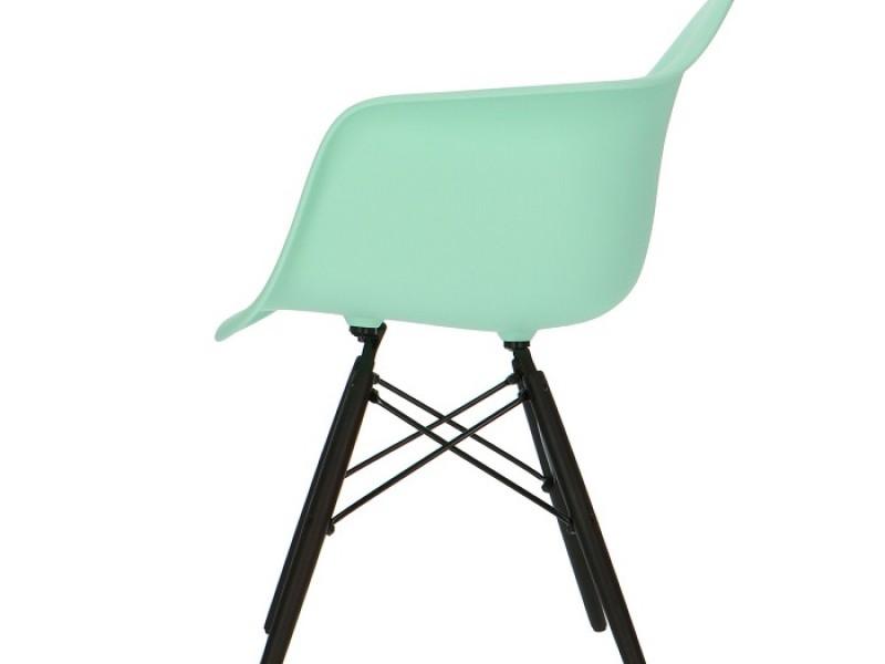 Image de la chaise design Silla Eames DAW - Menta verde