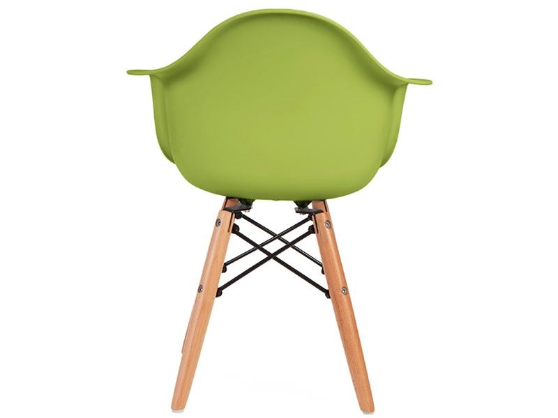 Image de la chaise design Silla Eames DAW Niños - Verde