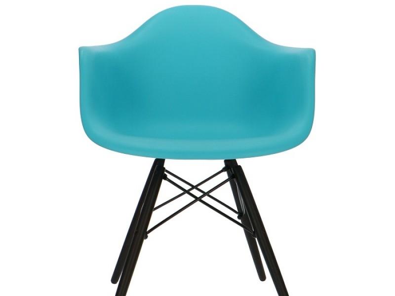 Image de la chaise design Silla Eames DAW - Turquesa