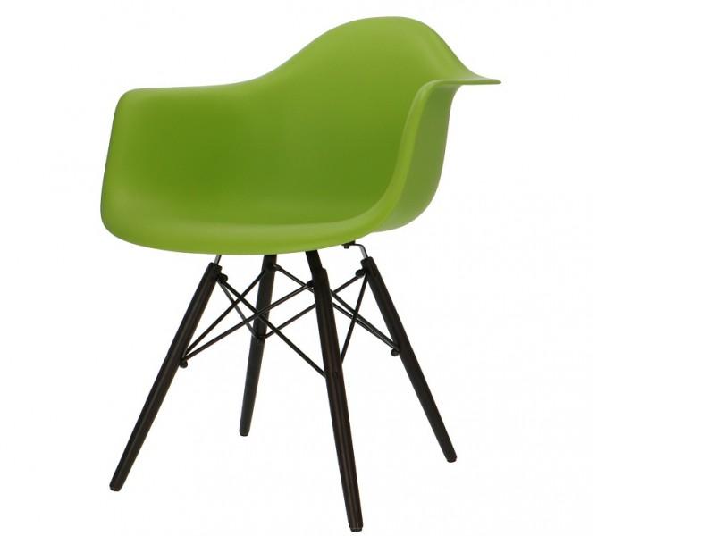 Image de la chaise design Silla Eames DAW - Verde manzana