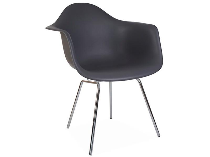 Image de la chaise design Silla Eames DAX - Antracita