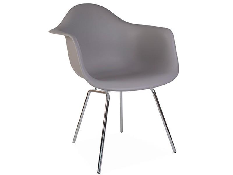 Image de la chaise design Silla Eames DAX - Gris ratón