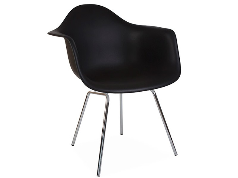 Image de la chaise design Silla Eames DAX - Negro