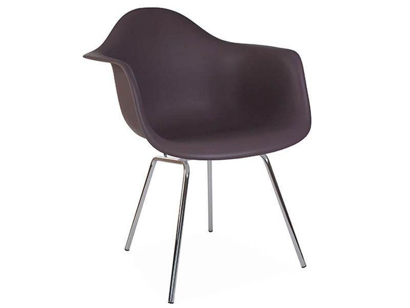 Image de la chaise design Silla Eames DAX - Taupe
