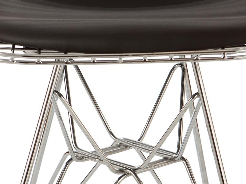 Image de la chaise design Silla Eames DKR - Negro