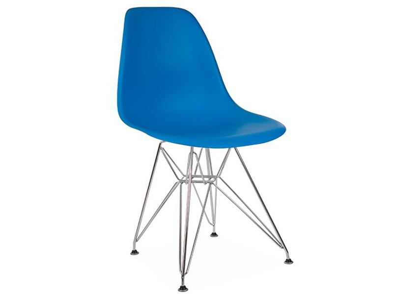 Image de la chaise design Silla Eames DSR - Azul marino