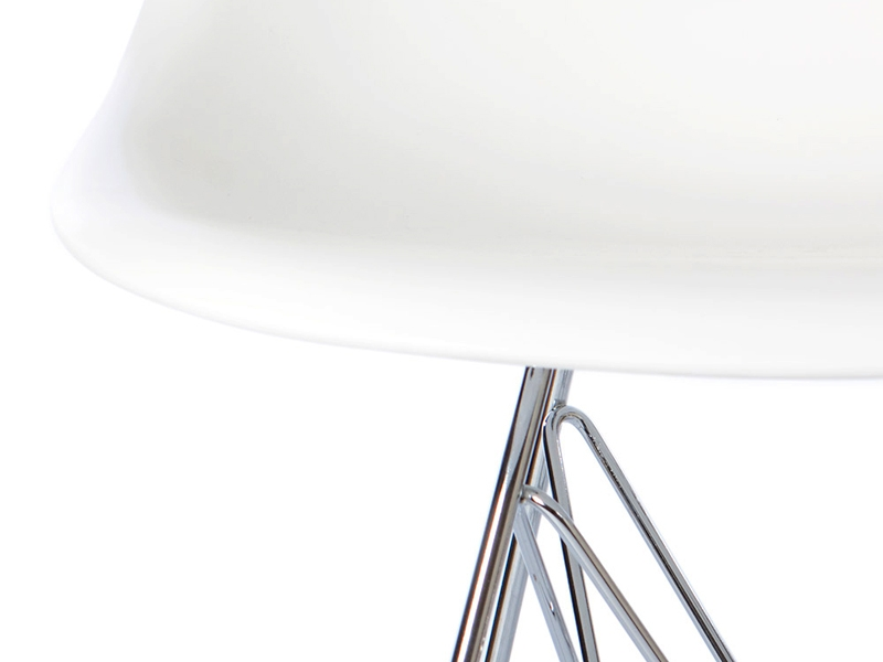 Image de la chaise design Silla Eames DSR - Blanca