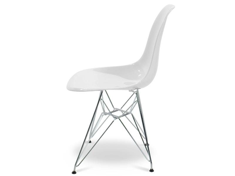 Image de la chaise design Silla Eames DSR - Blanco brillante