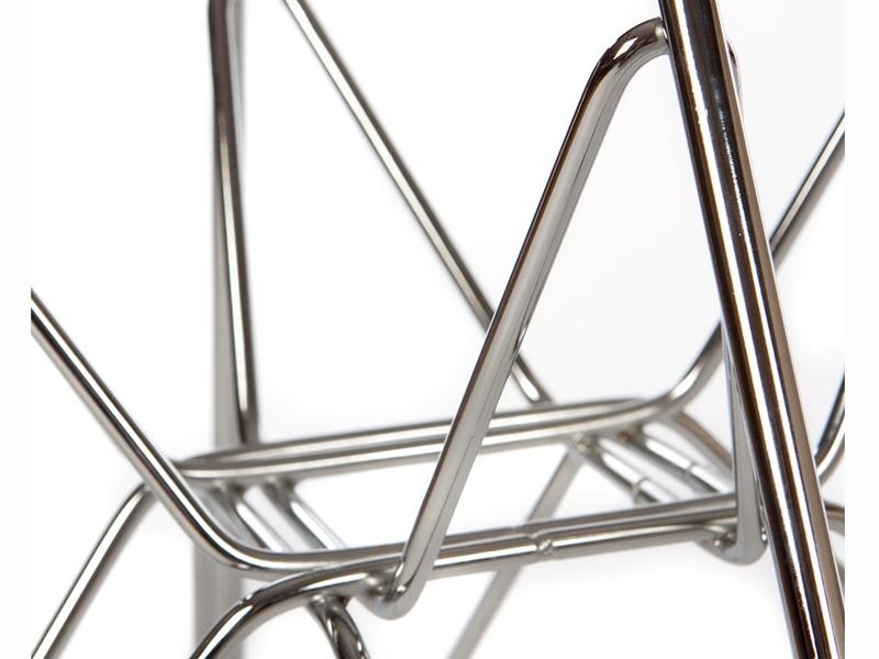Image de la chaise design Silla Eames DSR - Café