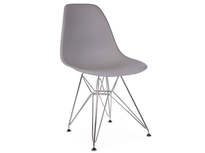 Image de la chaise design Silla Eames DSR - Gris ratón