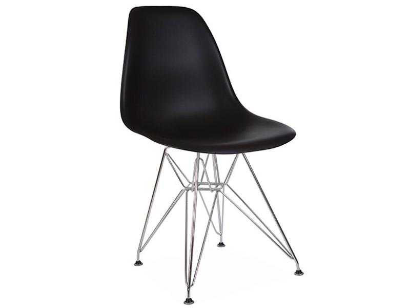 Image de la chaise design Silla Eames DSR - Negro