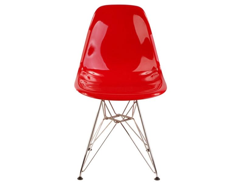 Image de la chaise design Silla Eames DSR - Rojo brillante