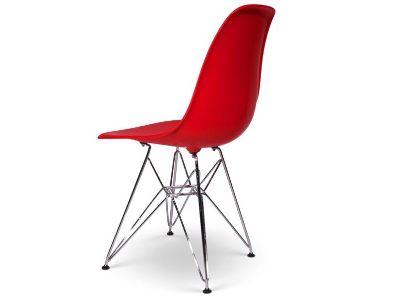 Image de la chaise design Silla Eames DSR - Rojo granate