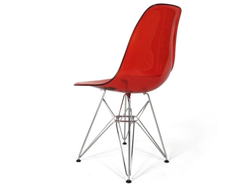 silla dsr rojo transparente. Black Bedroom Furniture Sets. Home Design Ideas