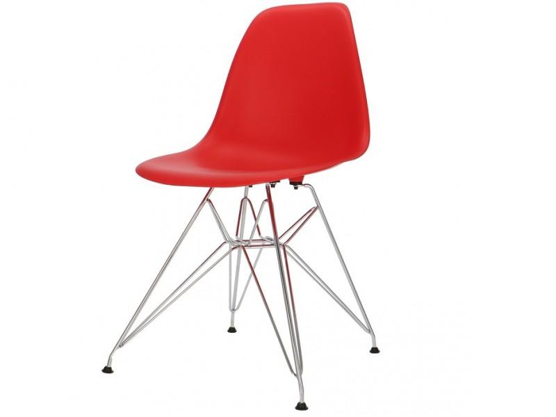 Image de la chaise design Silla Eames DSR - Rojo