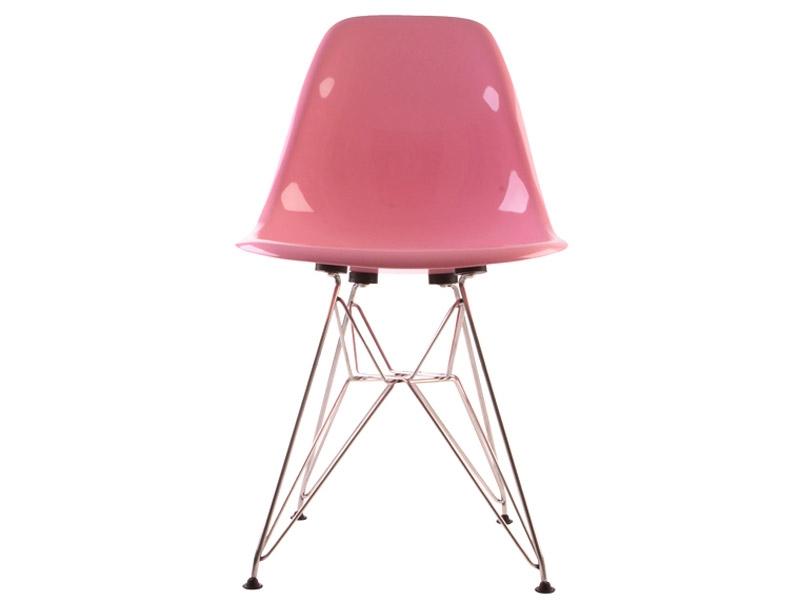 Image de la chaise design Silla Eames DSR - Rosa brillante