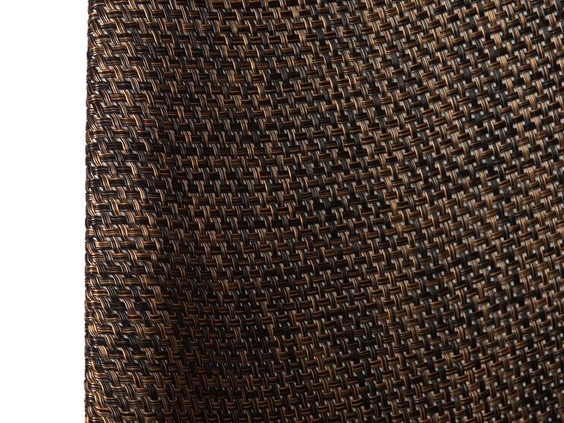 Image de la chaise design Silla Eames DSR Textura - Cacao