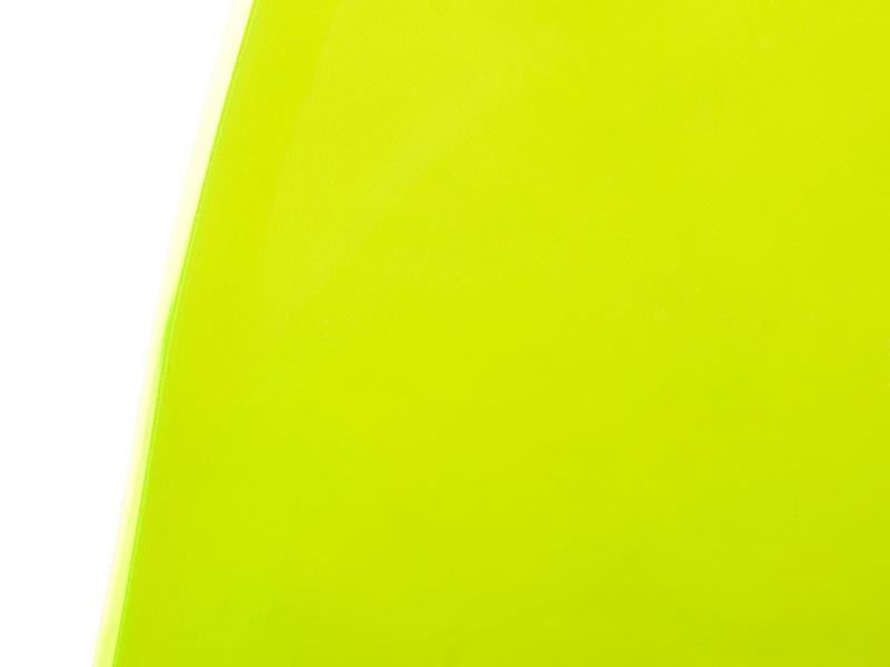 Image de la chaise design Silla Eames DSR - Verde transparente