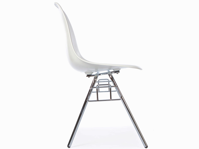 Image de la chaise design Silla Eames DSS apilable - Blanca