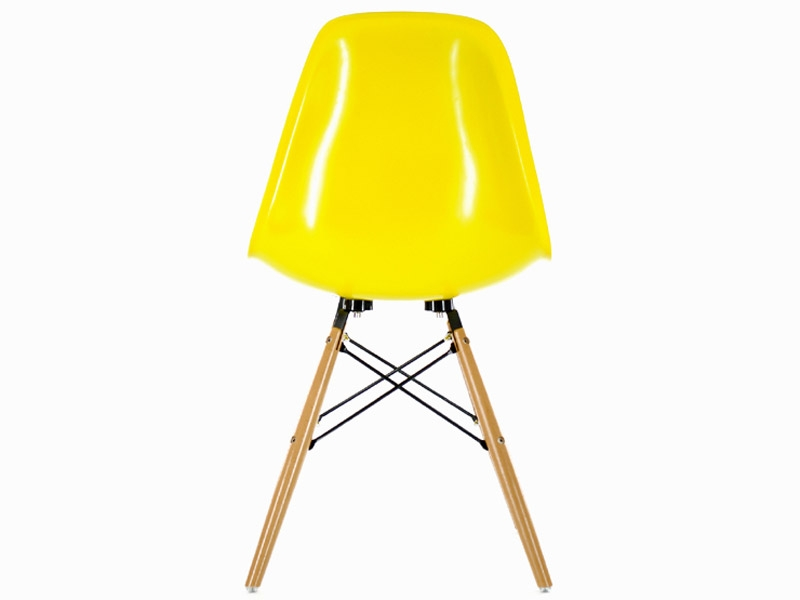 Image de la chaise design Silla Eames DSW - Amarillo brilliante