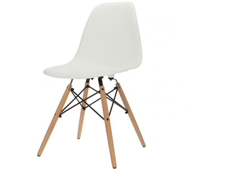 Image de la chaise design Silla Eames DSW - Blanco