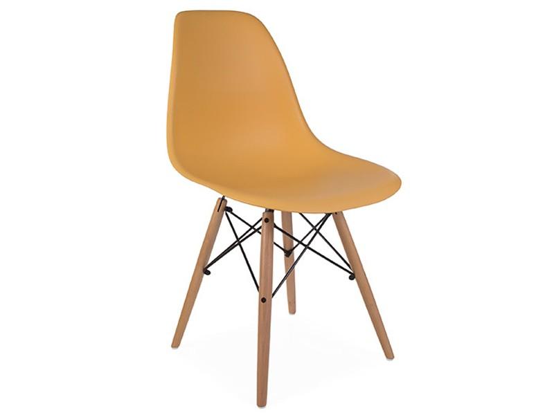 Image de la chaise design Silla Eames DSW - Naranja