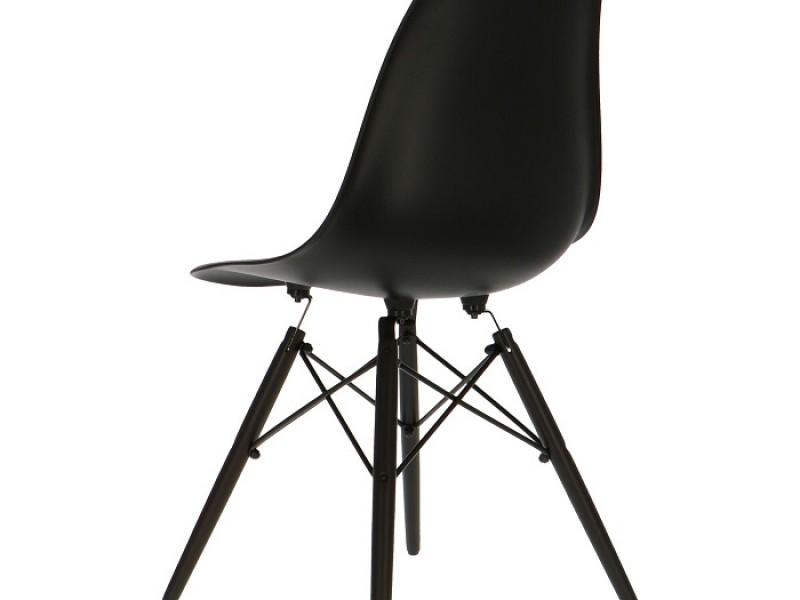 Image de la chaise design Silla Eames DSW - Negro