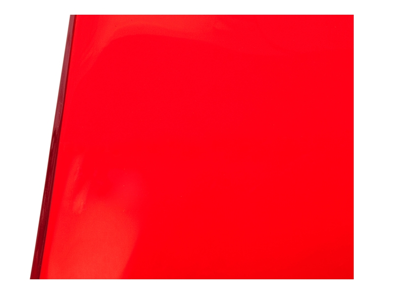 Image de la chaise design Silla Eames DSW - Rojo transparente